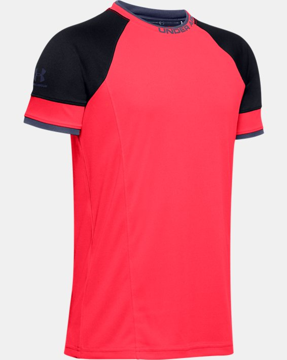 Boys' UA Challenger III Training Shirt, Red, pdpMainDesktop image number 0