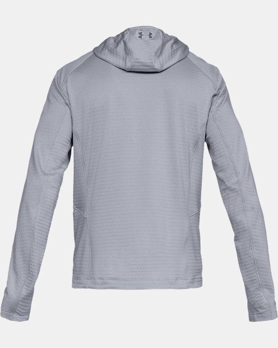 Men's ColdGear® Reactor Exert Jacket, Gray, pdpMainDesktop image number 4