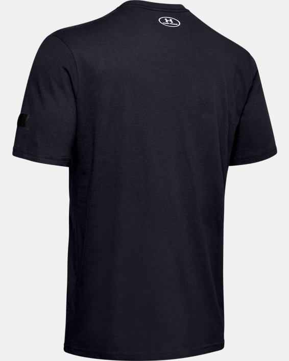 Men's UA Field T-Shirt, Black, pdpMainDesktop image number 5