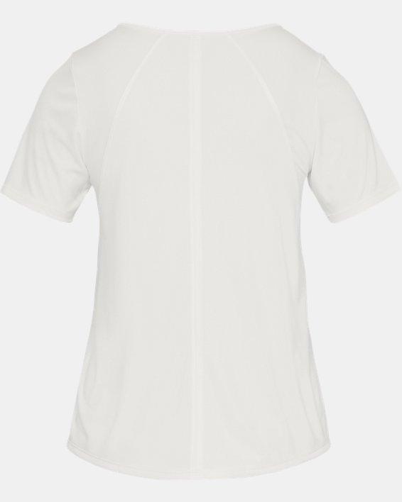 Women's UA Sun Armour ½ Sleeve, White, pdpMainDesktop image number 4