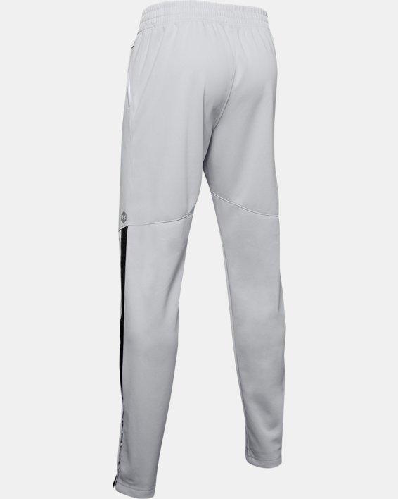 Men's UA RECOVER™ Knit Warm-Up Pants, Gray, pdpMainDesktop image number 4