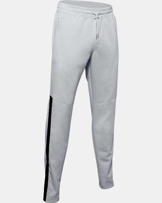 Men's UA RECOVER™ Knit Warm-Up Pants, Gray, pdpMainDesktop image number 3
