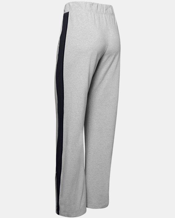 Women's UA Favorite Open Hem Side Split Pants, Gray, pdpMainDesktop image number 5