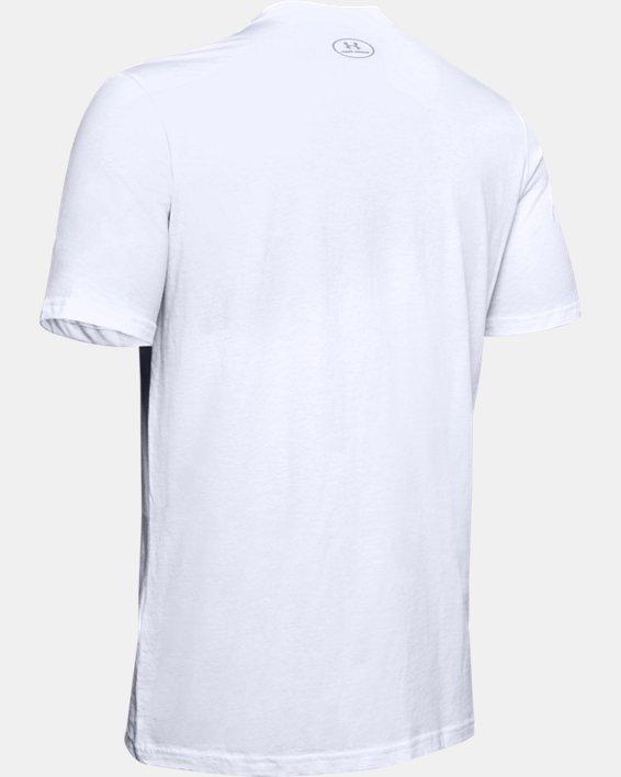 Men's UA Ascend Short Sleeve, White, pdpMainDesktop image number 5