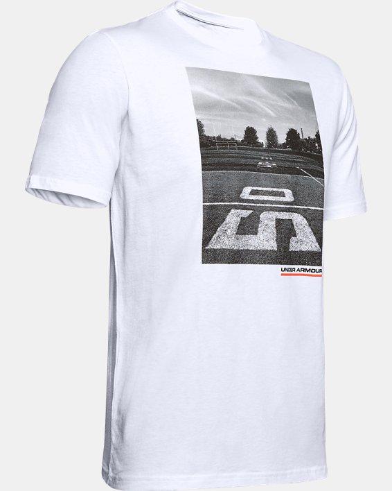 Men's UA Ascend Short Sleeve, White, pdpMainDesktop image number 4