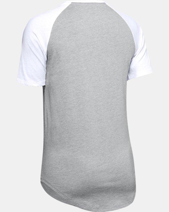 Women's UA Fit Kit Baseball T-Shirt, Gray, pdpMainDesktop image number 5