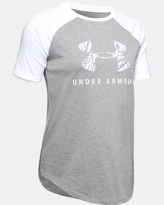 Women's UA Fit Kit Baseball T-Shirt, Gray, pdpMainDesktop image number 4
