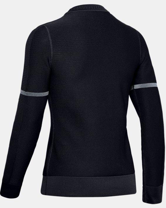 Sweat-shirt UA IntelliKnit pour femme, Black, pdpMainDesktop image number 4