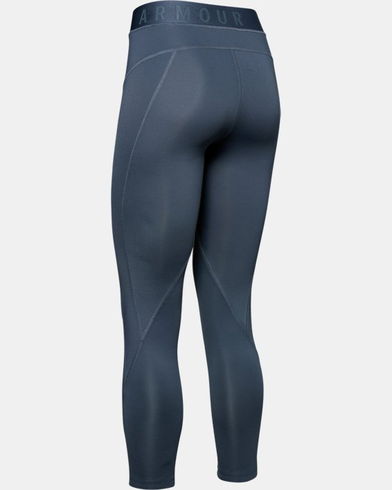 Women's UA RUSH™ ColdGear® Leggings, Gray, pdpMainDesktop image number 5