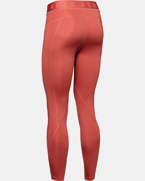 Women's UA RUSH™ ColdGear® Leggings, Pink, pdpMainDesktop image number 5