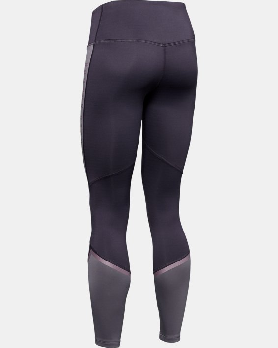 Women's ColdGear® Armour Leggings Graphic, Purple, pdpMainDesktop image number 5