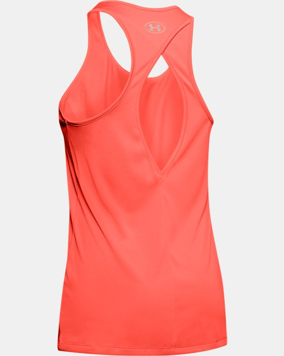 Women's UA Tech™ Graphic Tank, Orange, pdpMainDesktop image number 5
