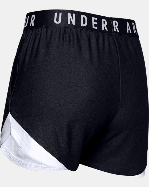 Women's UA Play Up Shorts 3.0, Black, pdpMainDesktop image number 5