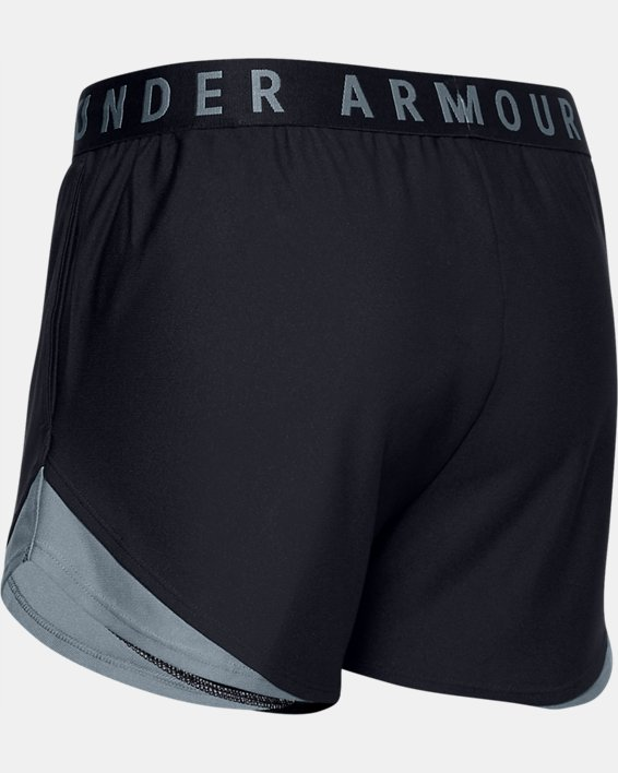 Women's UA Play Up Shorts 3.0, Black, pdpMainDesktop image number 5