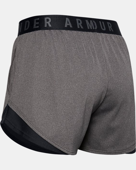 Women's UA Play Up Shorts 3.0, Gray, pdpMainDesktop image number 7
