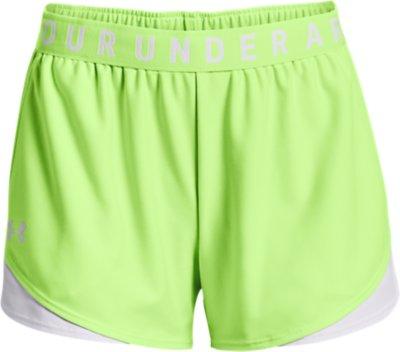"""NWT Under Armour 3/"""" Play Up Shorts Black Women/'s Small Heatgear No pockets"""