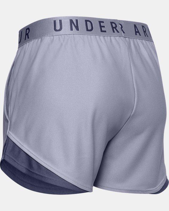 Women's UA Play Up Shorts 3.0, Purple, pdpMainDesktop image number 5