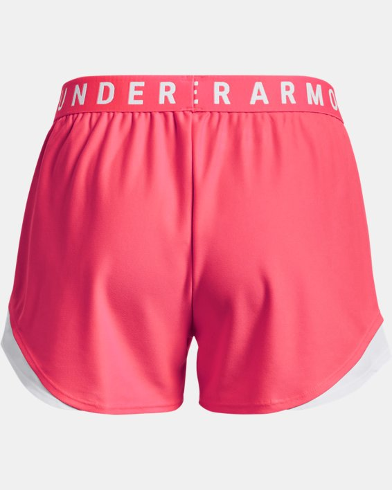 Women's UA Play Up Shorts 3.0, Pink, pdpMainDesktop image number 5