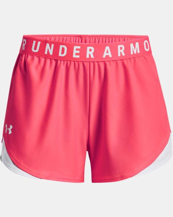 Women's UA Play Up Shorts 3.0, Pink, pdpMainDesktop image number 4