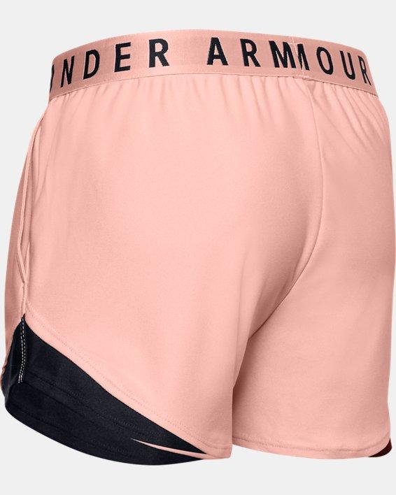 Women's UA Play Up Shorts 3.0, Orange, pdpMainDesktop image number 5
