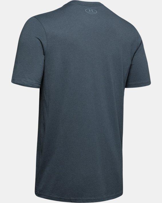 Men's UA Hunt Logo T-Shirt, Gray, pdpMainDesktop image number 5