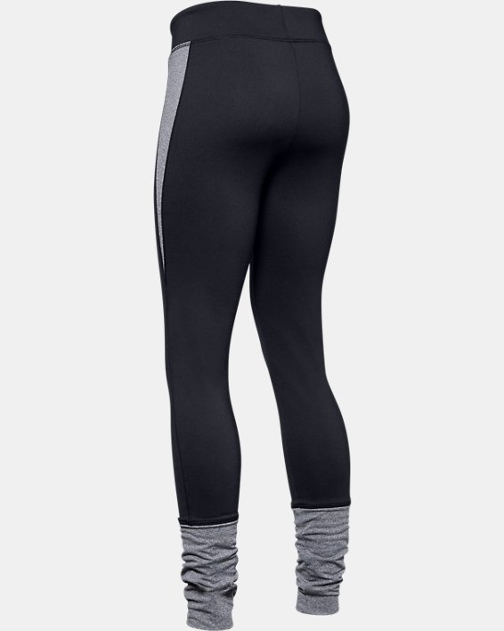 Girls' ColdGear® Leggings, Black, pdpMainDesktop image number 5