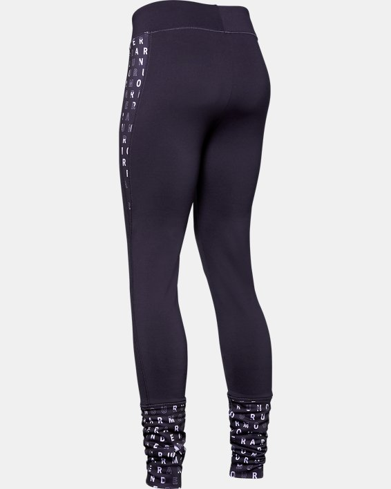 Girls' ColdGear® Leggings, Purple, pdpMainDesktop image number 5