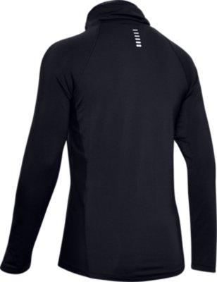 Under Armour UA Cold Gear Mock Fitness-Sweatshirt f/ür Damen