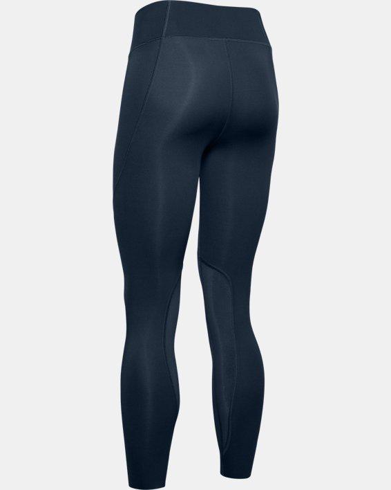 Women's UA Speedpocket Ankle Crop, Navy, pdpMainDesktop image number 4