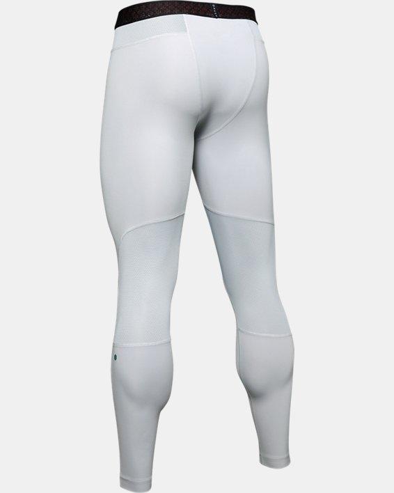 Men's UA RUSH™ ColdGear® Leggings, Gray, pdpMainDesktop image number 5