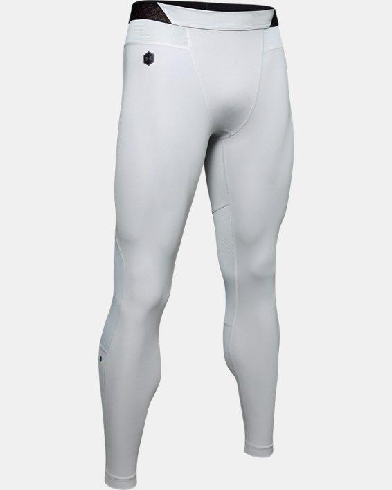 Men's UA RUSH™ ColdGear® Leggings, Gray, pdpMainDesktop image number 4