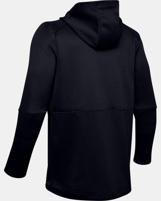 Men's UA MK-1 Warm-Up Full Zip Hoodie, Black, pdpMainDesktop image number 5