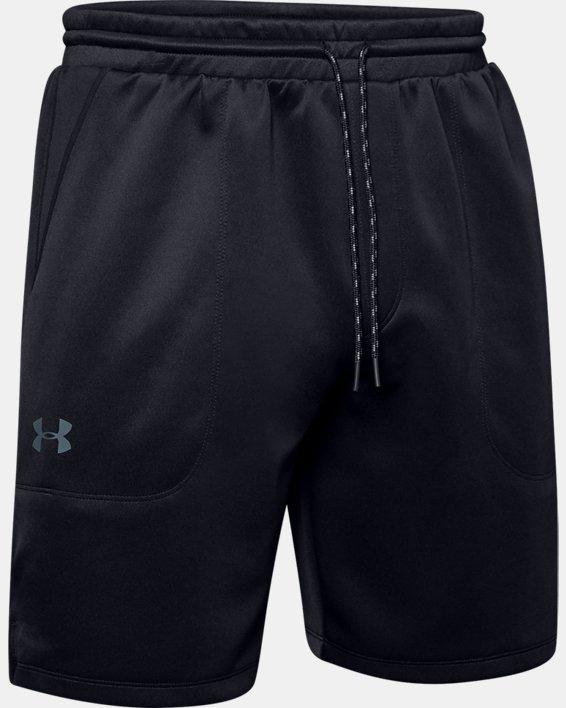 Men's UA MK-1 Warm-Up Shorts, Black, pdpMainDesktop image number 4