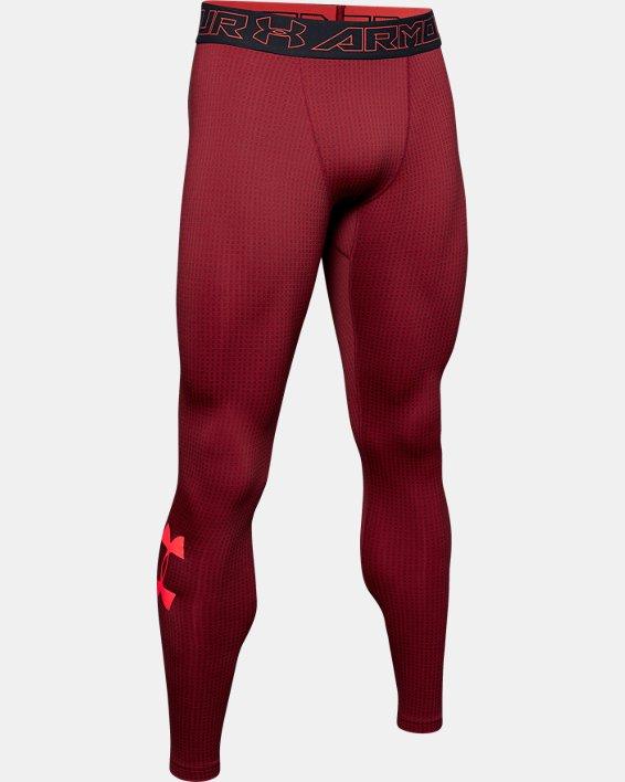 Men's ColdGear® Armour Leggings, Black, pdpMainDesktop image number 4