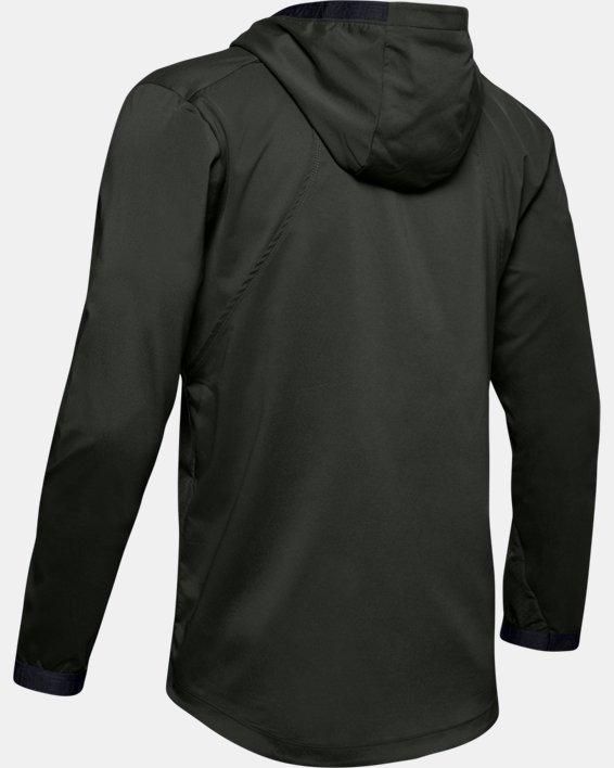 Men's UA Vanish Woven Jacket, Green, pdpMainDesktop image number 4