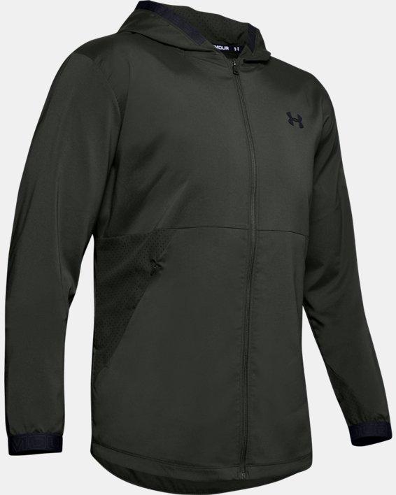 Men's UA Vanish Woven Jacket, Green, pdpMainDesktop image number 3