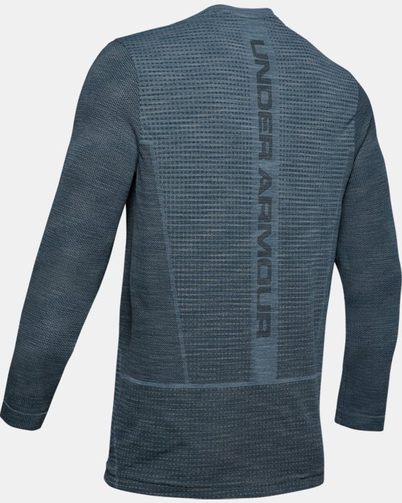 Men's UA Vanish Seamless Long Sleeve, Gray, pdpMainDesktop image number 4