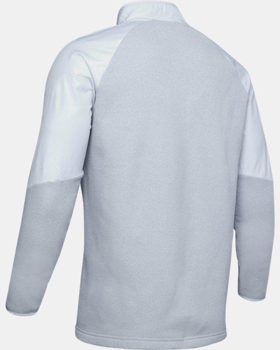 Men's ColdGear® Infrared ½ Zip, Gray, pdpMainDesktop image number 4