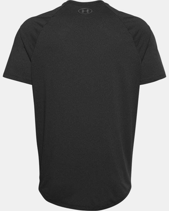 Men's UA Tech™ 2.0 Short Sleeve T-Shirt, Black, pdpMainDesktop image number 7