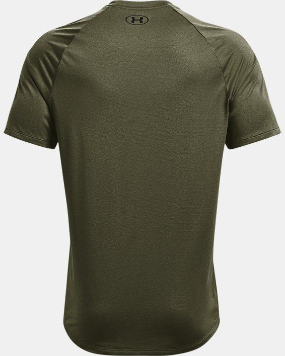 Men's UA Tech™ 2.0 Short Sleeve T-Shirt, Green, pdpMainDesktop image number 5