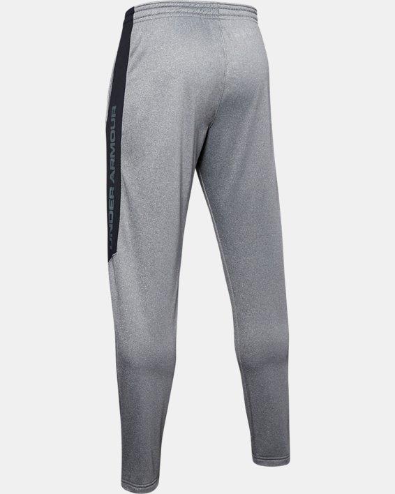 Men's Armour Fleece® Graphic Pants, Gray, pdpMainDesktop image number 5