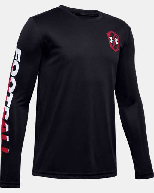 Boys' UA Velocity Football Long Sleeve