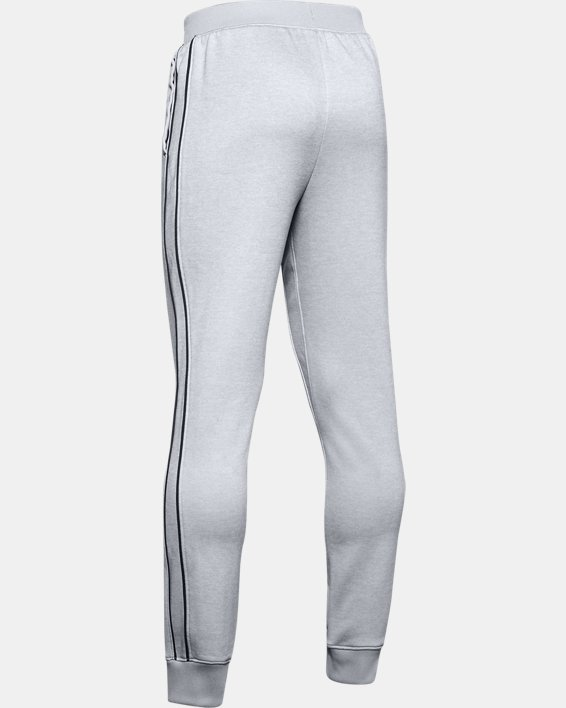 Boys' UA Tech™ Terry Joggers, Gray, pdpMainDesktop image number 1