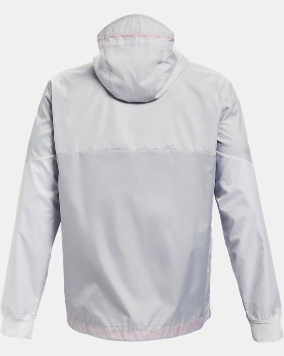 Men's UA Legacy Windbreaker Jacket, Gray, pdpMainDesktop image number 5