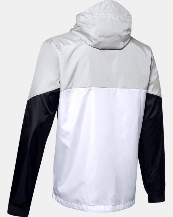 Men's UA Legacy Windbreaker Jacket, White, pdpMainDesktop image number 4