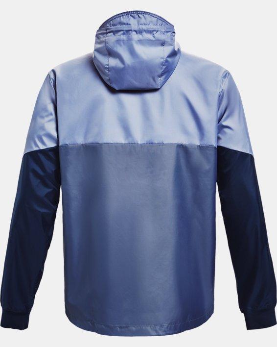 Men's UA Legacy Windbreaker Jacket, Blue, pdpMainDesktop image number 5