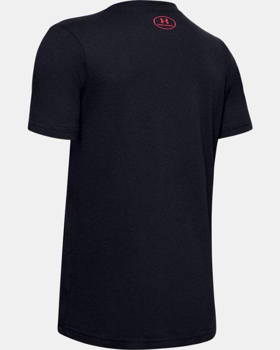Boys' UA Basketball Heat T-Shirt, Black, pdpMainDesktop image number 1