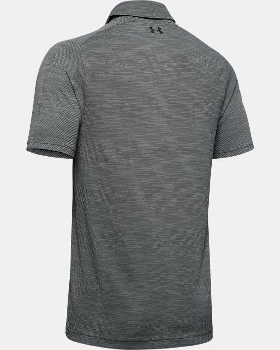 Men's UA Vanish Seamless Polo, Gray, pdpMainDesktop image number 4