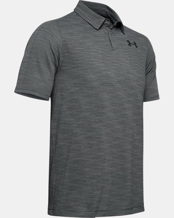 Men's UA Vanish Seamless Polo, Gray, pdpMainDesktop image number 3