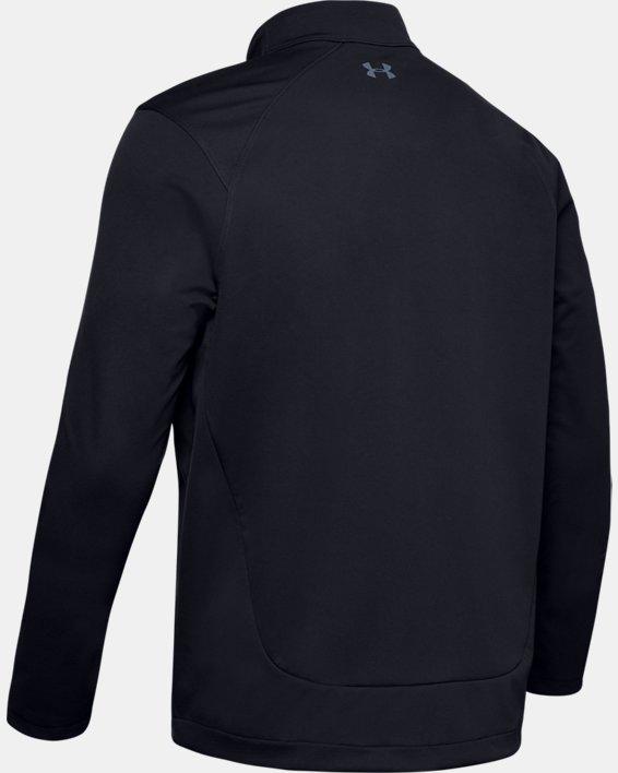 Men's UA Storm Full Zip, Black, pdpMainDesktop image number 4